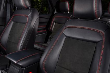 2022 Explorer ST-Line-interior-seats-credit-ford