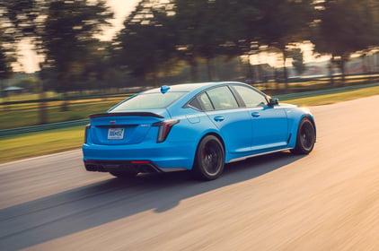 2022-Cadillac-CT5-V-Blackwing-blue-Credit-Cadillac