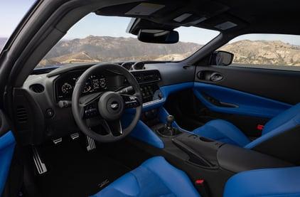 2023-Nissan-Z-Blue-interior-1