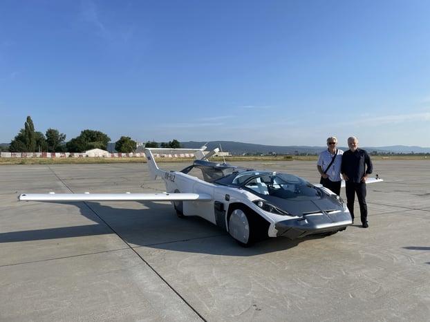 Klein Visions patent protected AirCar -the dual-mode car-aircraft vehicle-credit-Aircar.