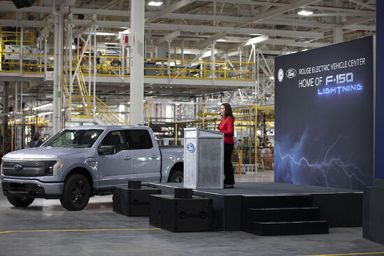 michigan-governor-rouge-center-ford-f150-lightning-credit-ford