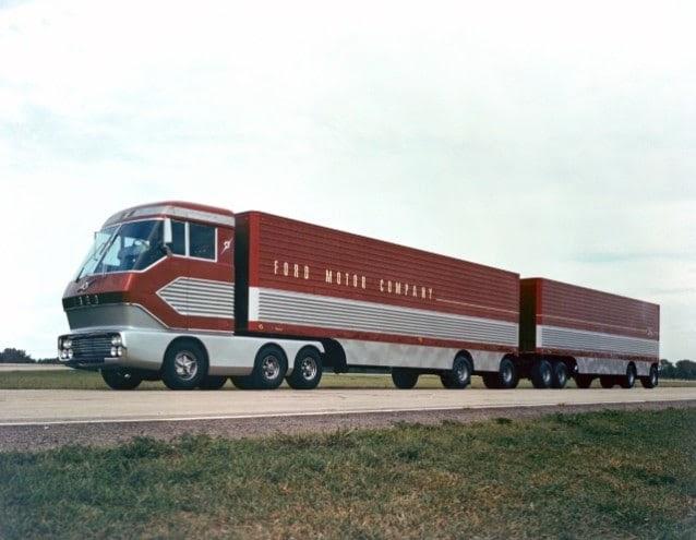 1964 Ford Big Red Gas Turbine Truck