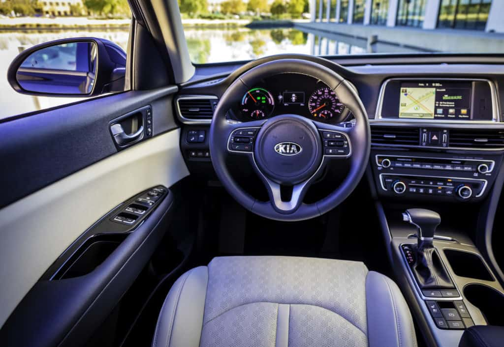 2017 Kia Optima Hybrid EX Test Drive Photo Gallery