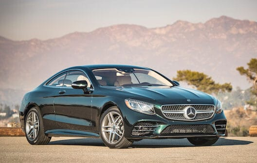 The 2018 Mercedes-Benz S560 Is The Coupe Your Neighbors Will Covet Photo Gallery