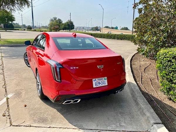 2020 Cadillac CT4-V Exterior and interior
