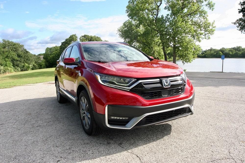 2020 Honda CR-V Touring Hybrid exterior