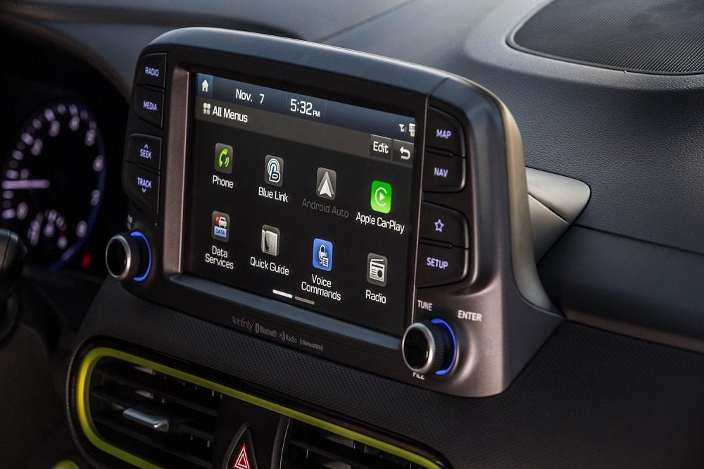 2020 Hyundai Kona Ultimate Interior