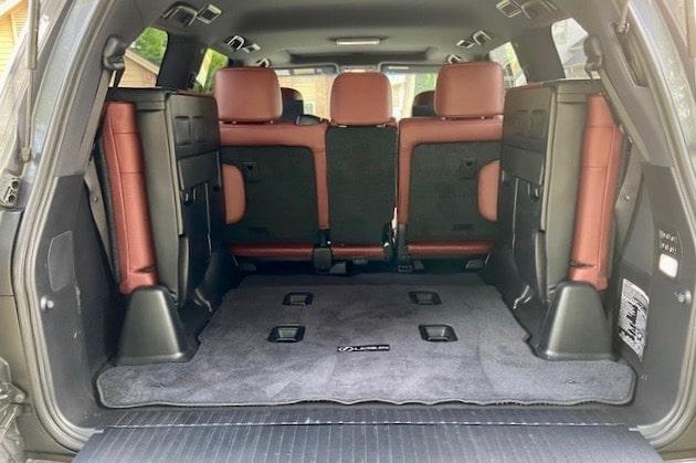 2020 Lexus LX 570 Sport Package exterior