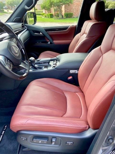 2020 Lexus LX 570 Sport Package interior