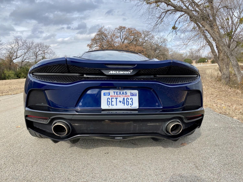 2020 McLaren GT exterior