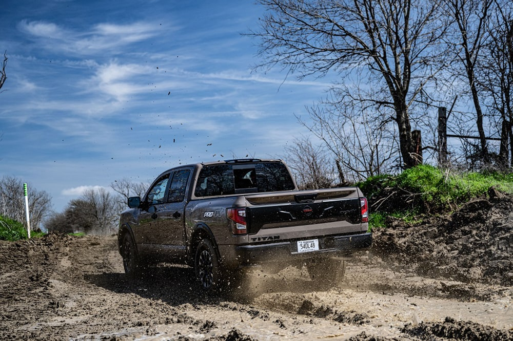 2020 Nissan Titan Off-Road and Towing