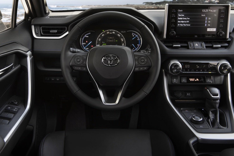 2020 Toyota RAV4 XSE Hybrid interiors