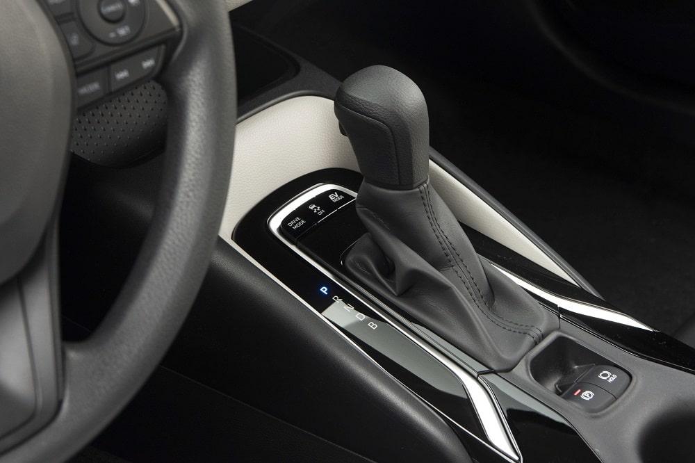 2020 Toyota Corolla Hybrid LE Center Console