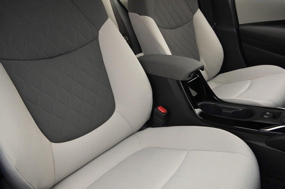 2020 Toyota Corolla Hybrid LE Seats