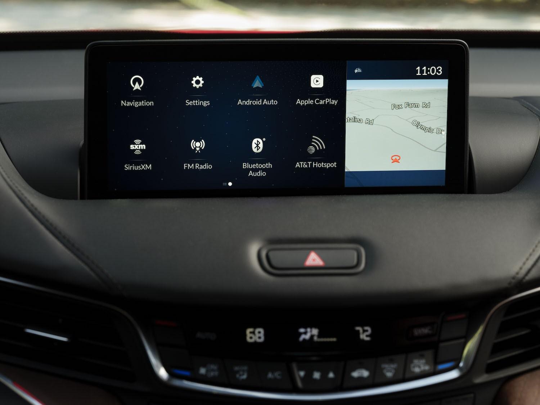 2021 Acura TLX Advance interior