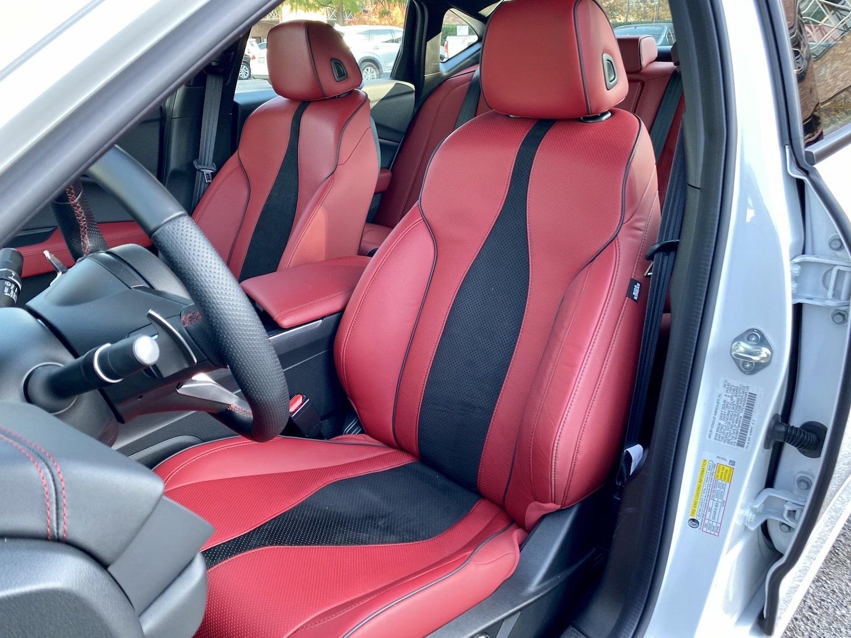 2021 Acura TLX A-Spec SH-AWD interior