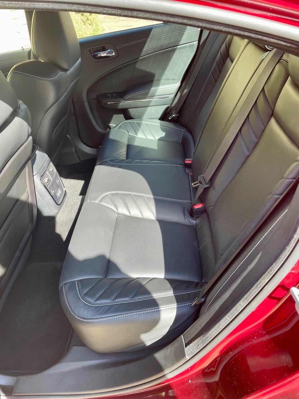 2021 Dodge Charger Hellcat interior
