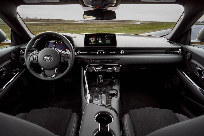2021 Toyota Supra GR interior