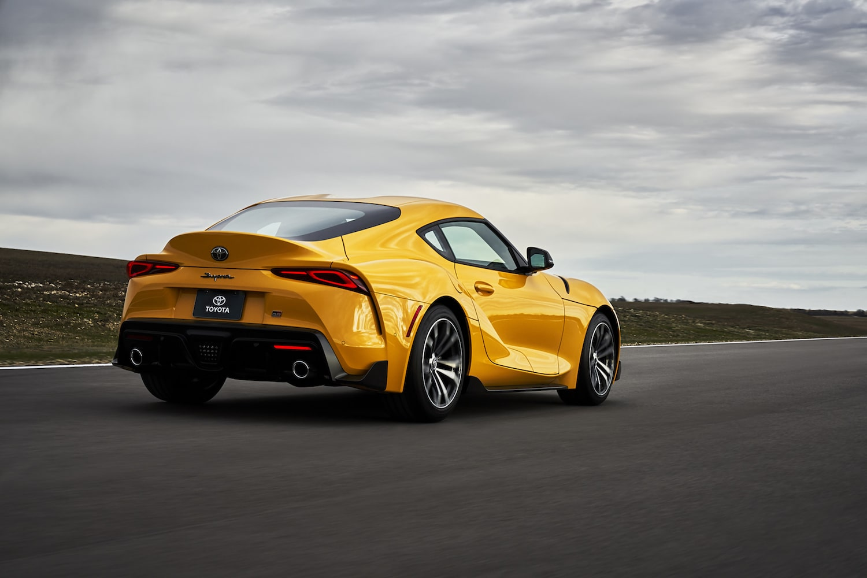 2021 Toyota Supra GR Nitro Yellow