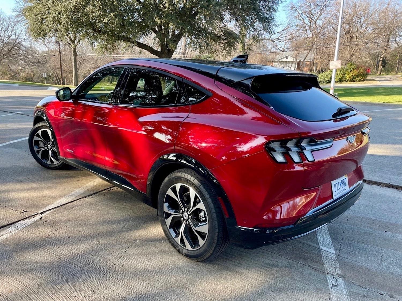 2021 Mustang Mach-E exterior