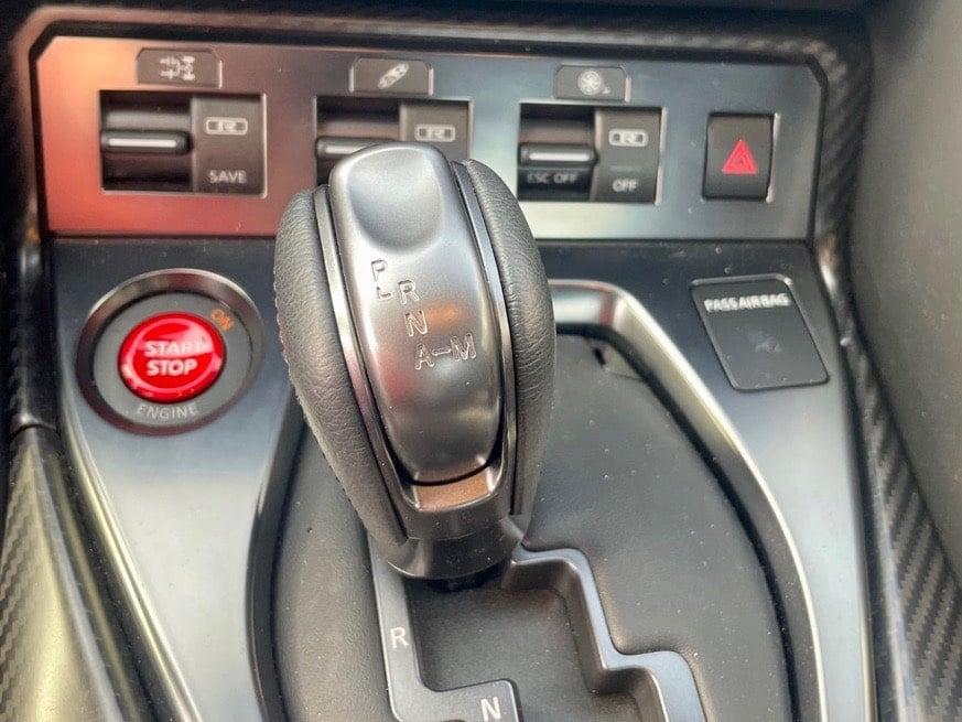 2021 Nissan GT-R interior