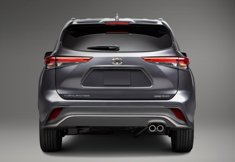 2021 Toyota Highlander XSE exterior