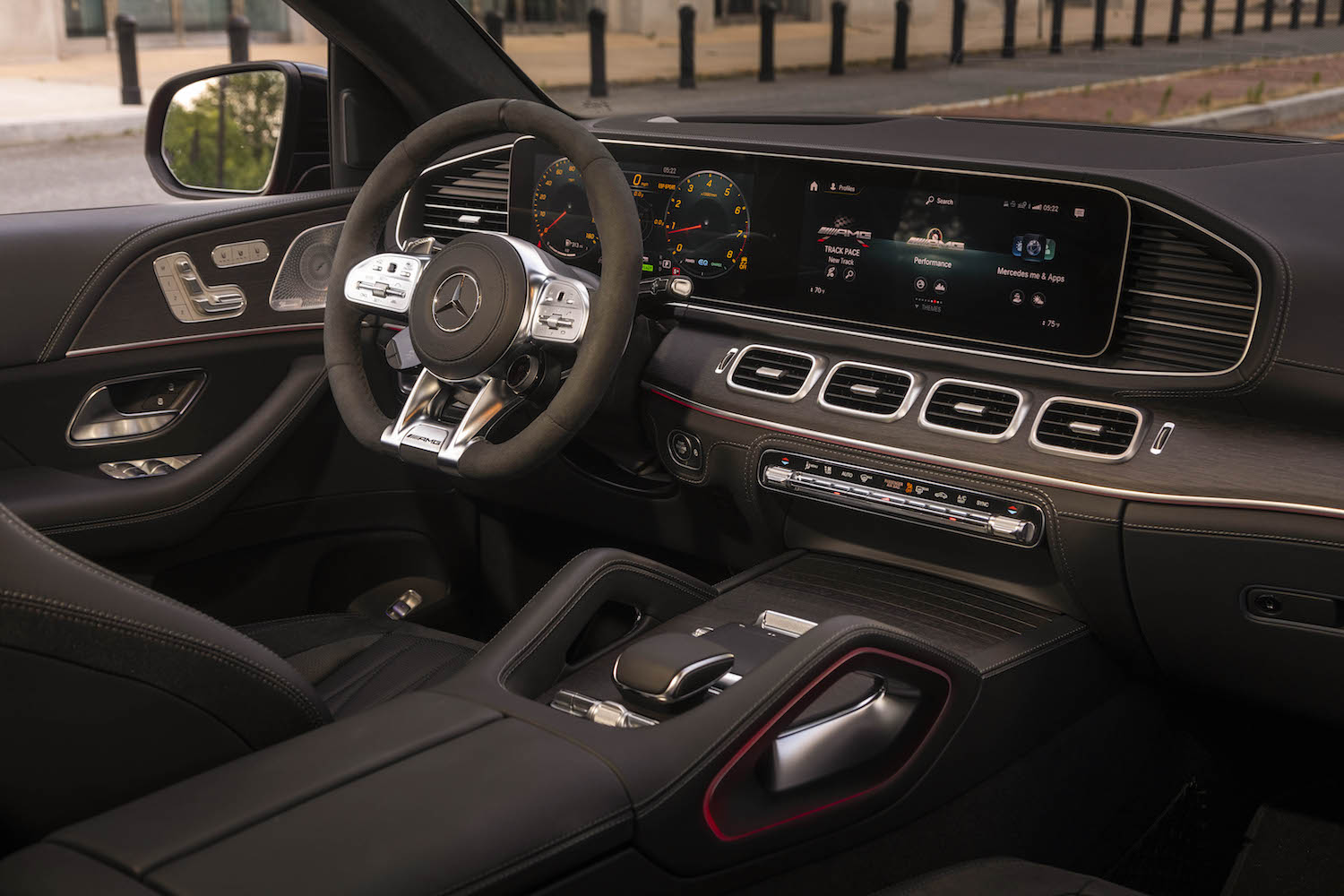 2021 Mercedes-AMG GLE 53Coupe interior