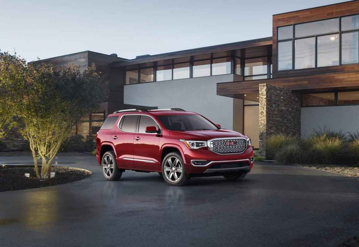Test Drive: 2017 GMC Acadia Denali Review Photo Gallery
