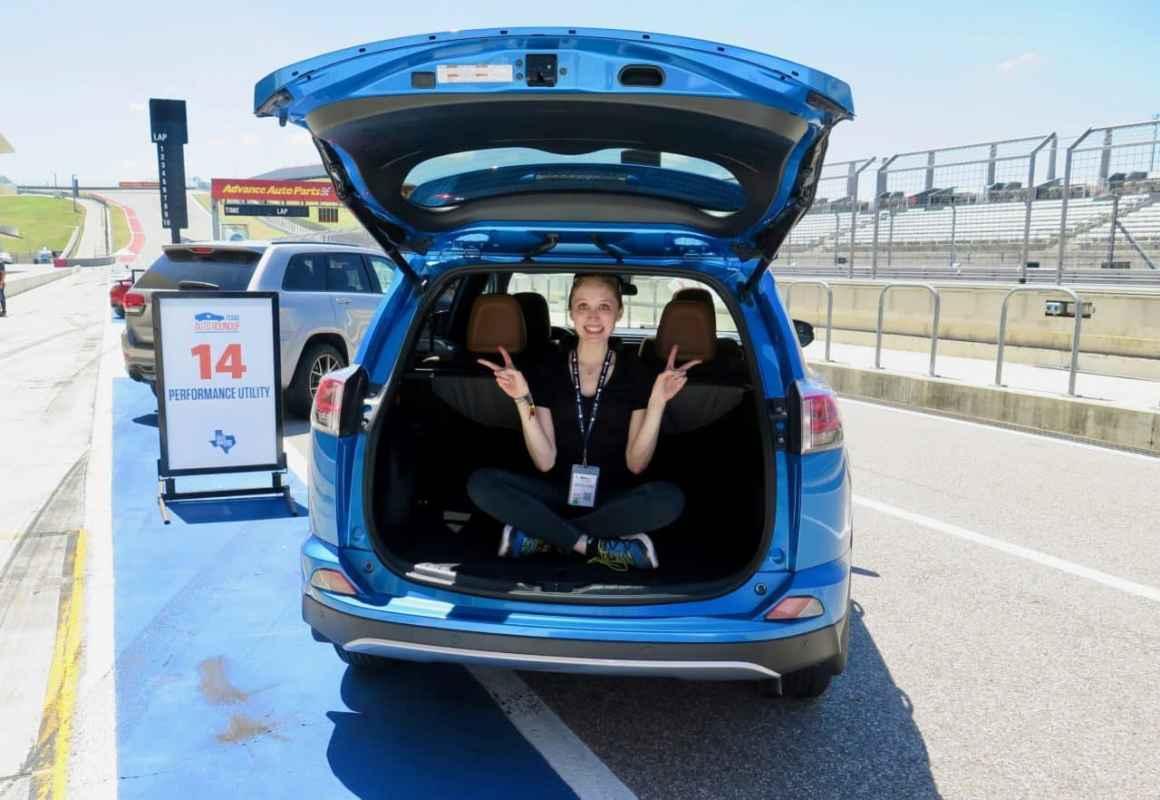 Track Drive: 2017 Toyota RAV4 Hybrid SE Photo Gallery