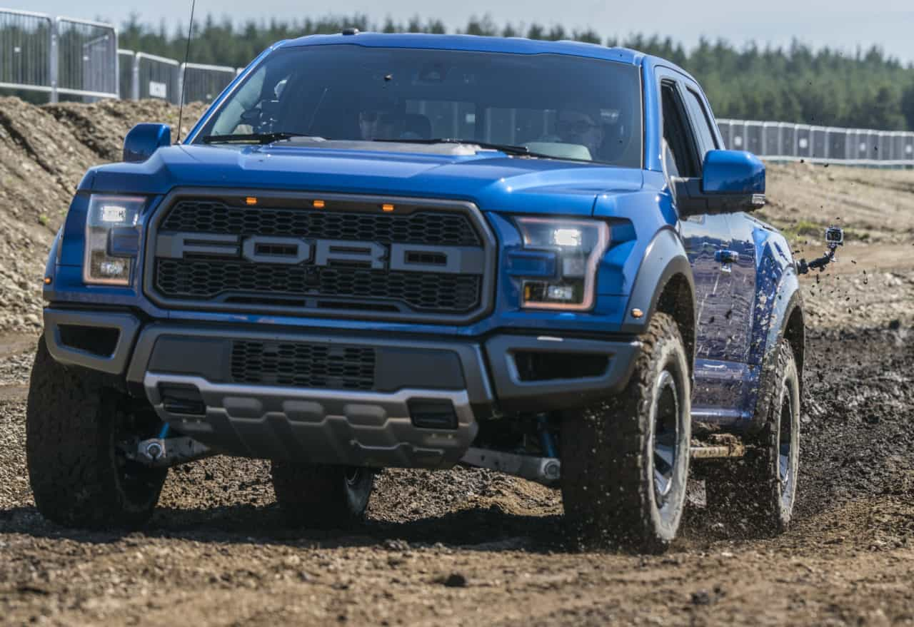 2017 Ford F-150 Raptor SuperCrew Review Photo Gallery