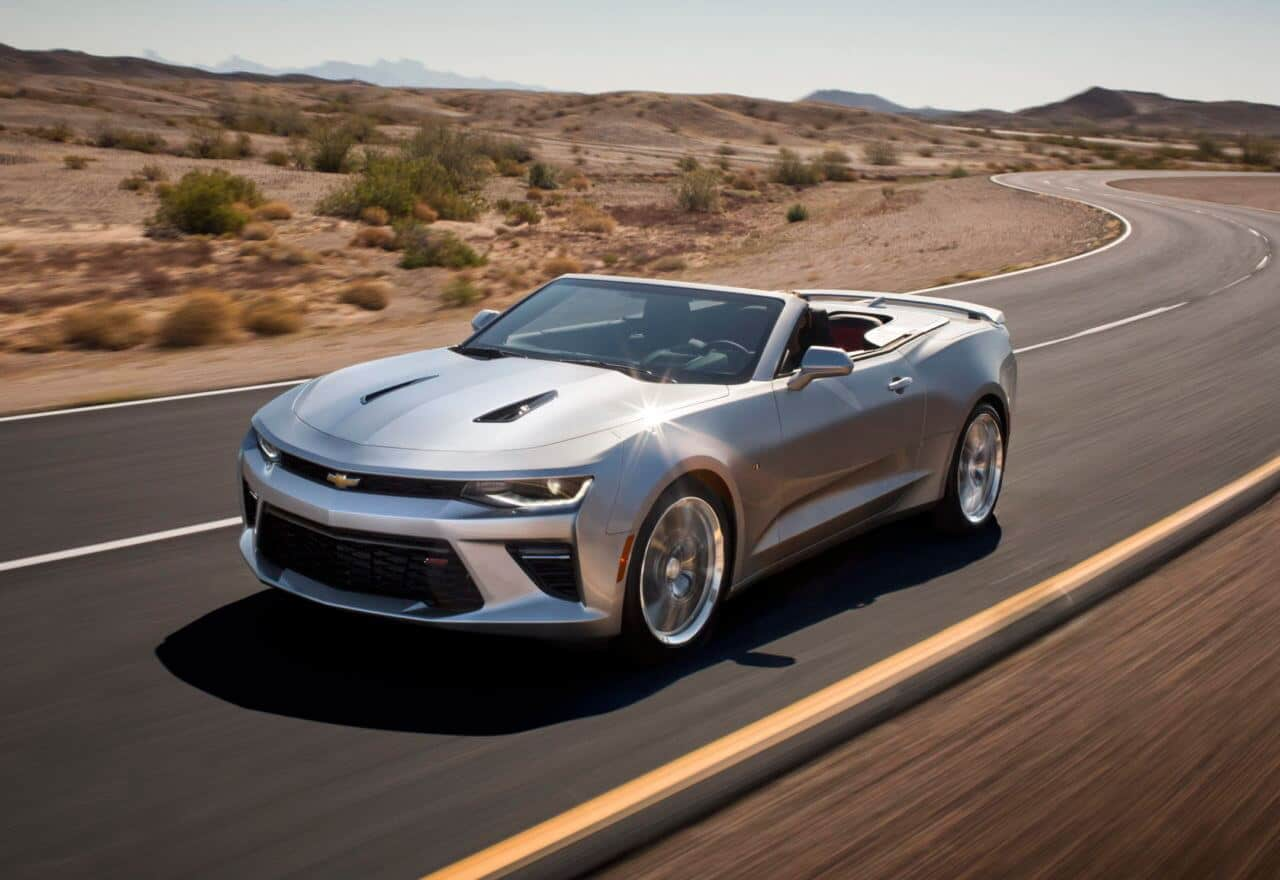 2017 Chevrolet Camaro SS 50th Anniversary Edition Review Photo Gallery