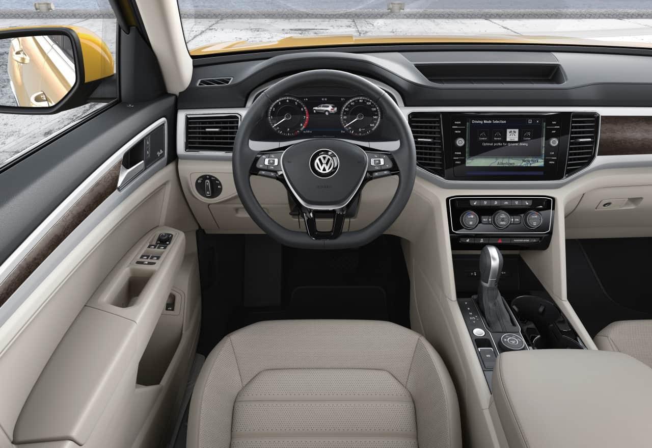2018 Volkswagen Atlas SEL Premium Test Drive Photo Gallery