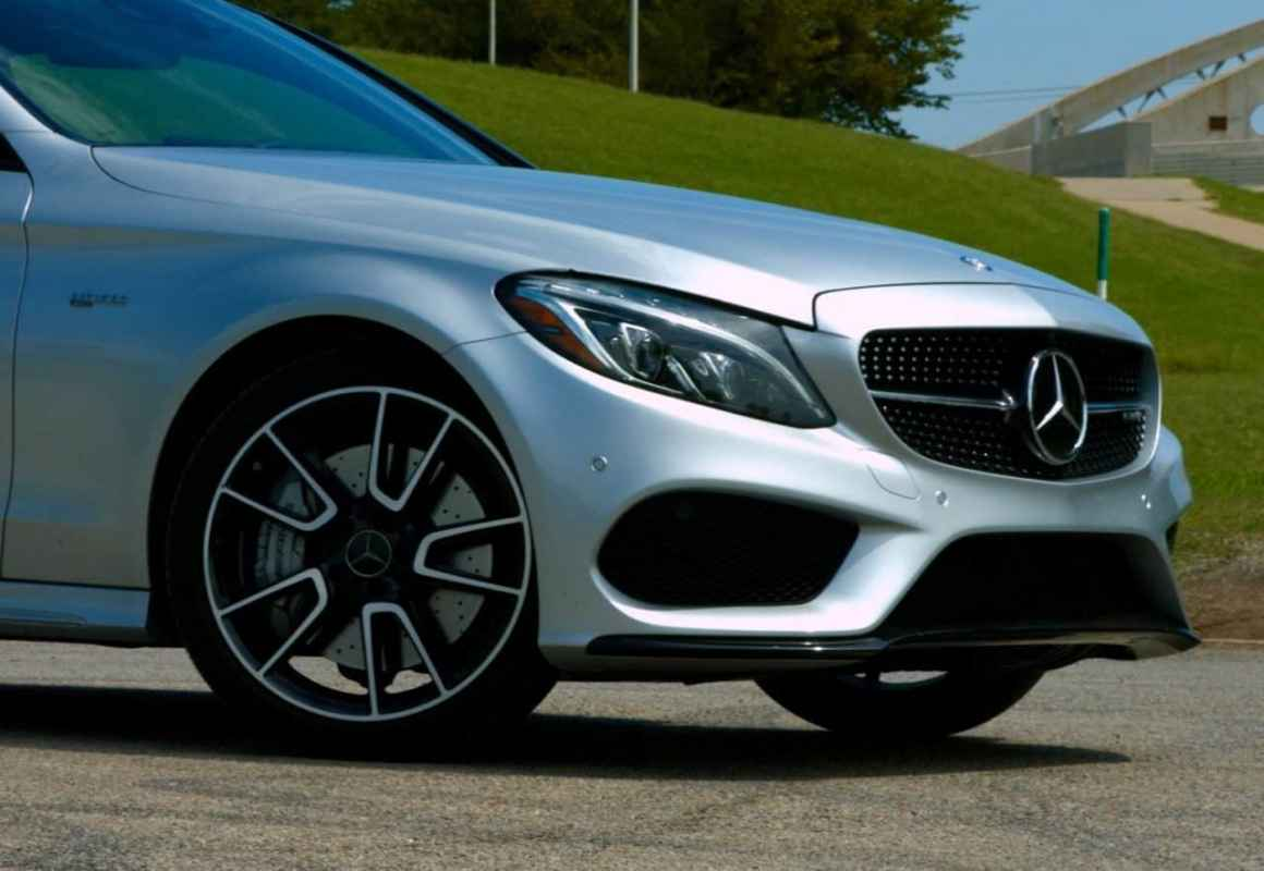 2017 Mercedes-Benz AMG C43 Coupe Test Drive Photo Gallery