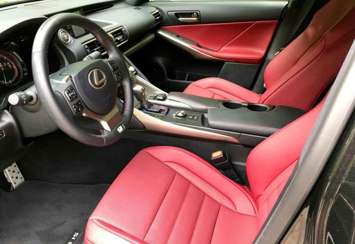 2017 Lexus IS 350 F Sport Test Drive Photo Gallery