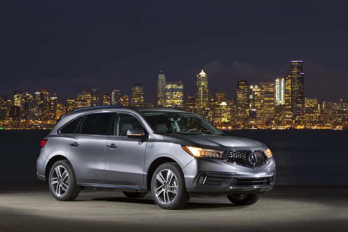 2017 Acura MDX Hybrid Test Drive Photo Gallery