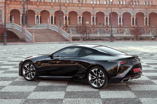 2018 Lexus LC 500h Test Drive Photo Gallery