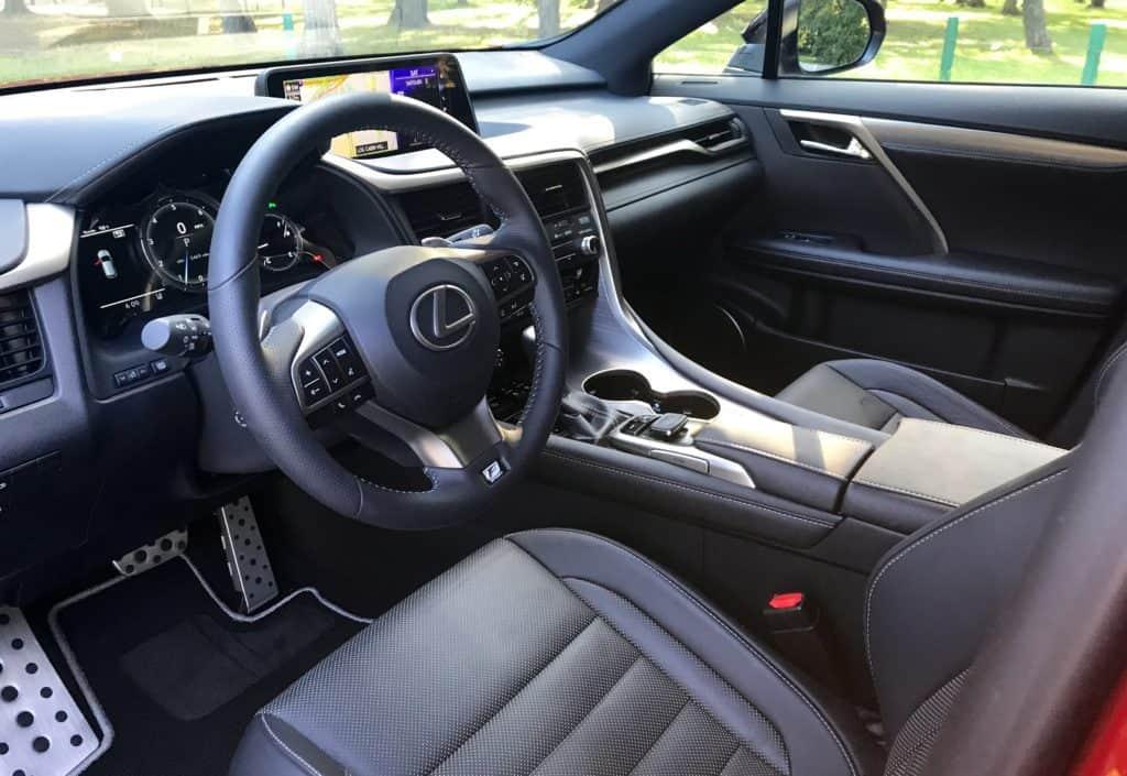 2017 Lexus RX 350 F Sport Test Drive Photo Gallery