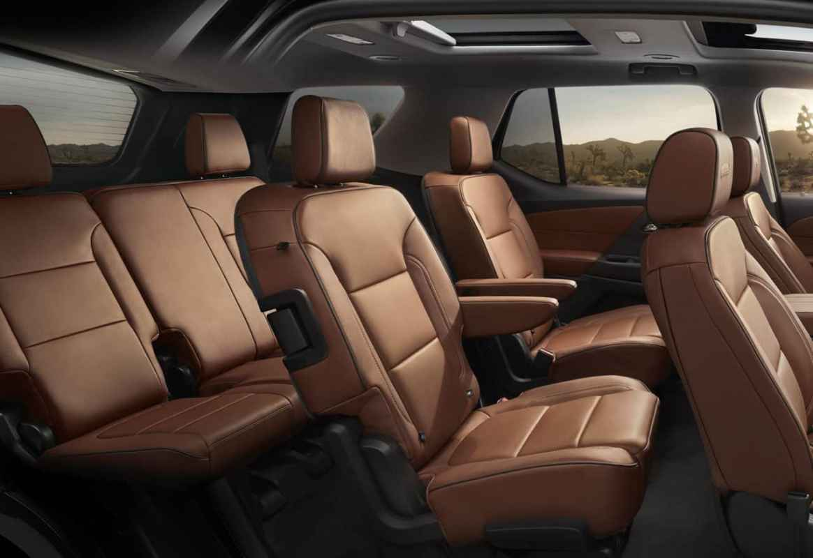 2018 Chevrolet Traverse High Country Test Drive Photo Gallery