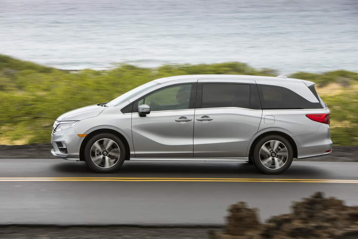 2018 Honda Odyssey Test Drive Photo Gallery