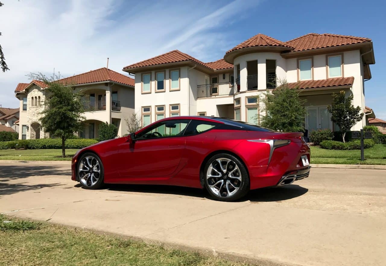 2018 Lexus LC 500 Test Drive Photo Gallery