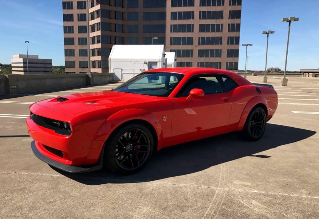 2018 Dodge Challenger Hellcat Widebody Test Drive Photo Gallery