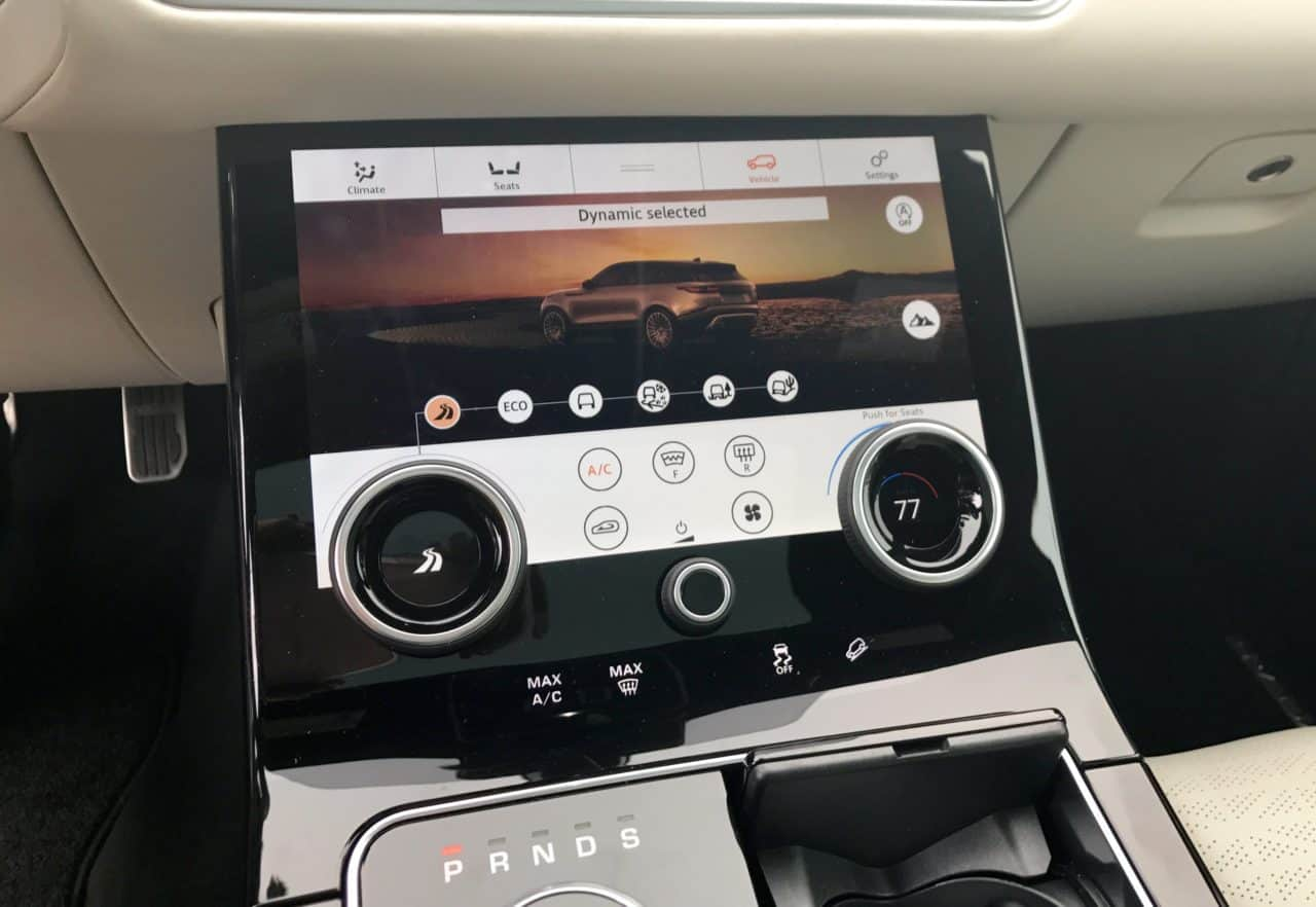 2018 Range Rover Velar R-Dynamic Test Drive Photo Gallery