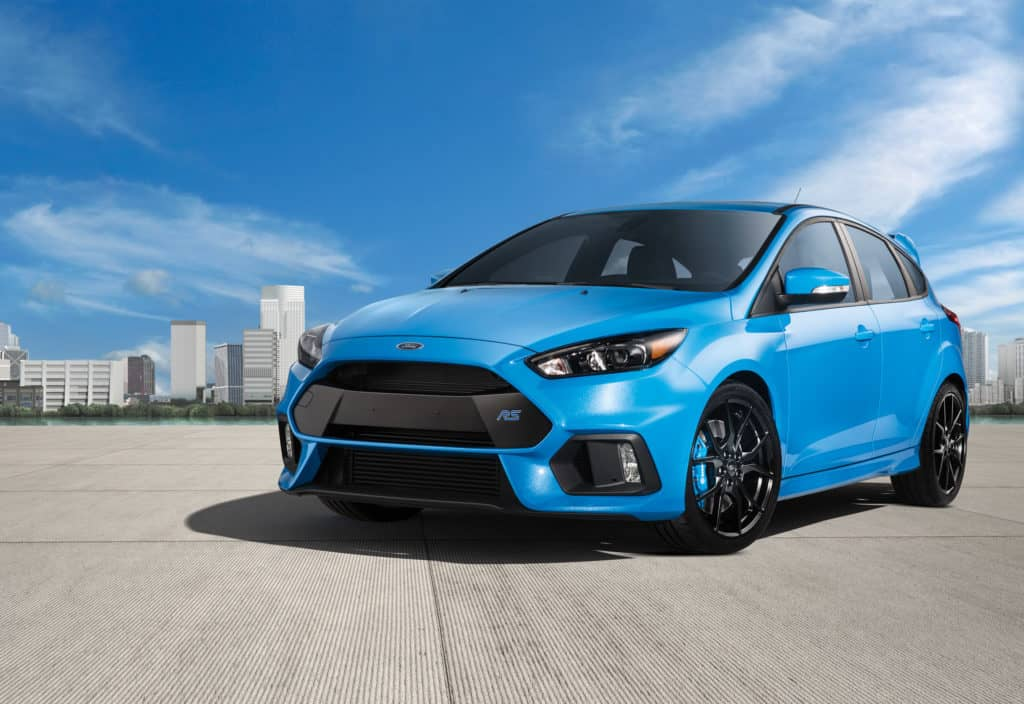 2017 Ford Focus RS Test Drive Photo Gallery