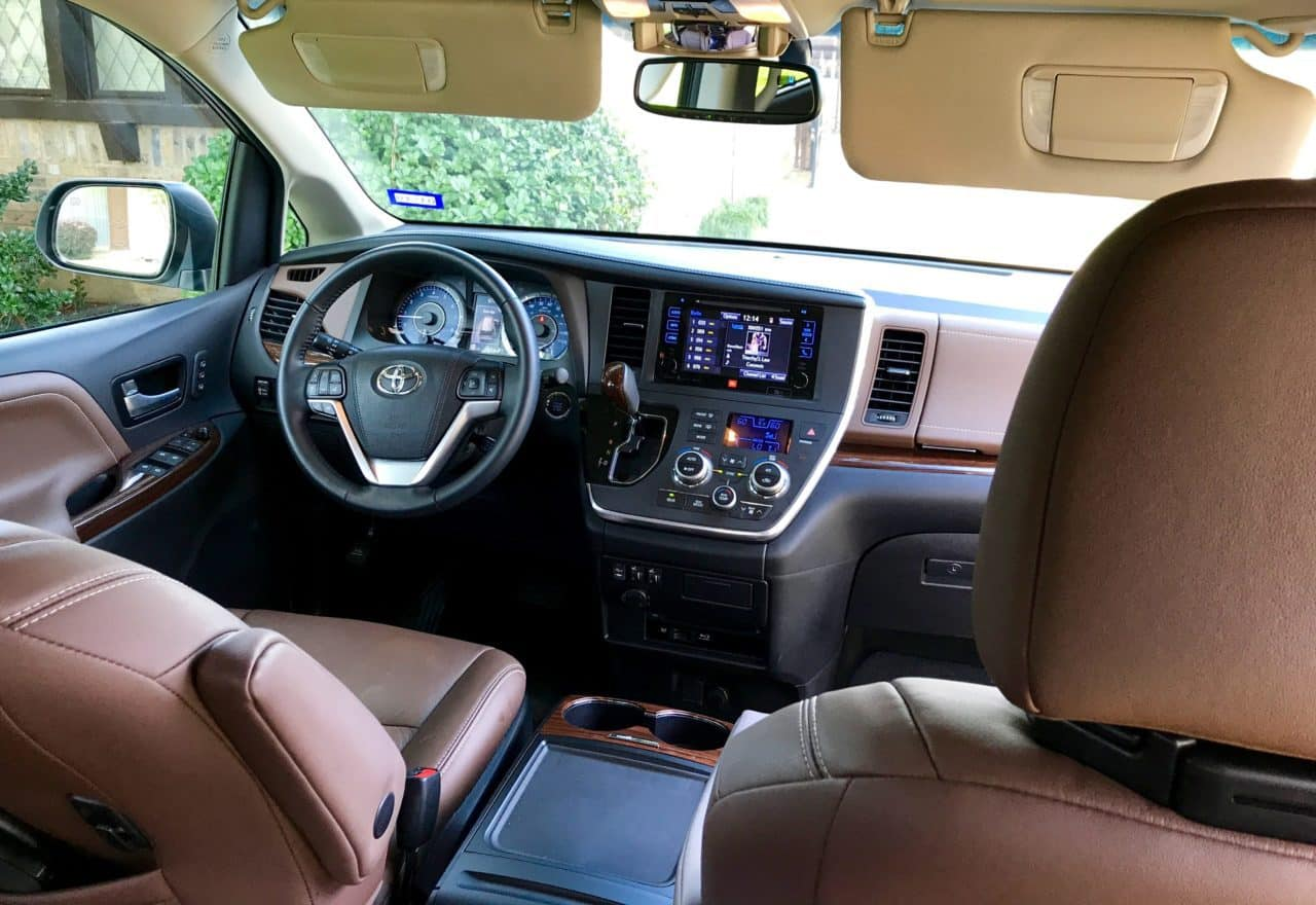 2017 Toyota Sienna Limited Premium AWD Test Drive Photo Gallery