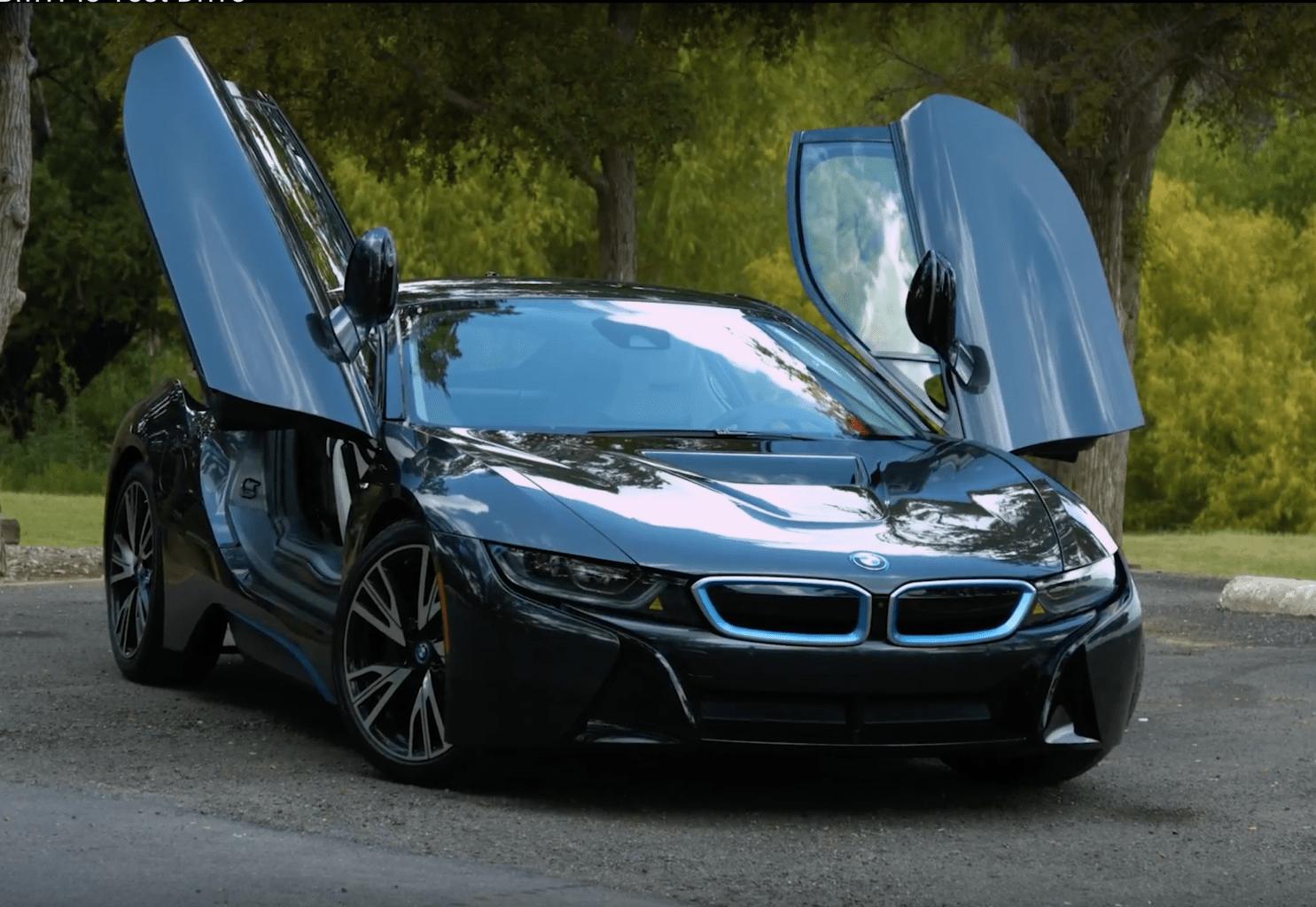 2017 BMW i8 Test Drive Photo Gallery