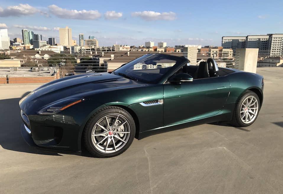 2018 Jaguar F-Type 2.0T Convertible Test Drive Photo Gallery