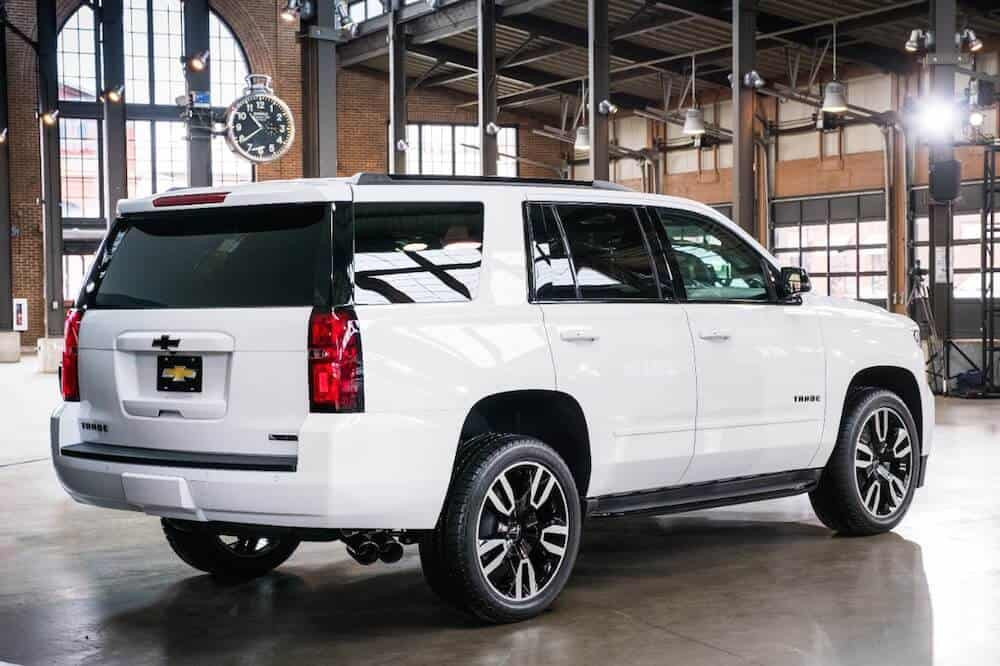 2018 Chevrolet Tahoe RST Test Drive and Review Photo Gallery
