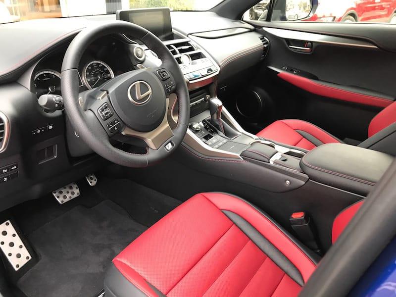 2018 Lexus NX 300 F Sport Test Drive Photo Gallery