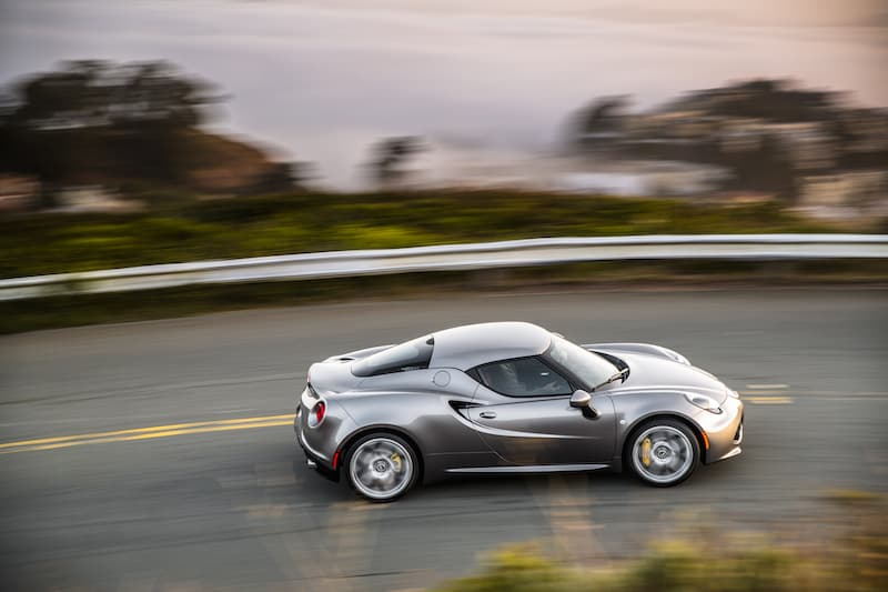2018 Alfa Romeo 4C Test Drive and Review Photo Gallery