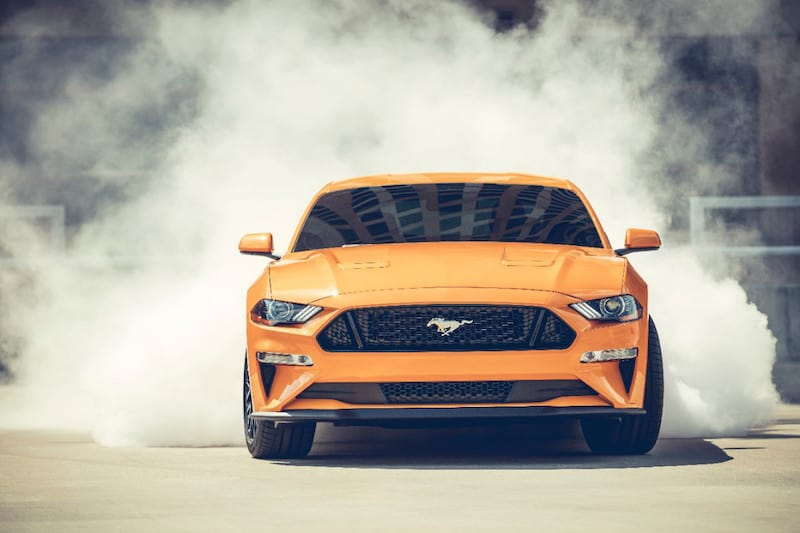 2018 Ford Mustang GT Review and Test Drive Photo Gallery